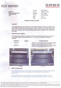 SABS 1307 150Lt & 200Lt
