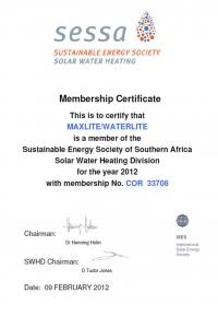 SESSA Membership 2012