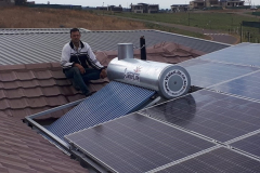 150Lt Solar Geyser designed to fit with PV installation